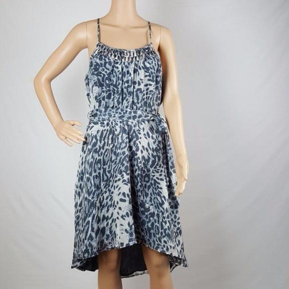 charlie jade Dresses & Skirts - 100% SILK Charlie Jade  Dress Small Gray EUC